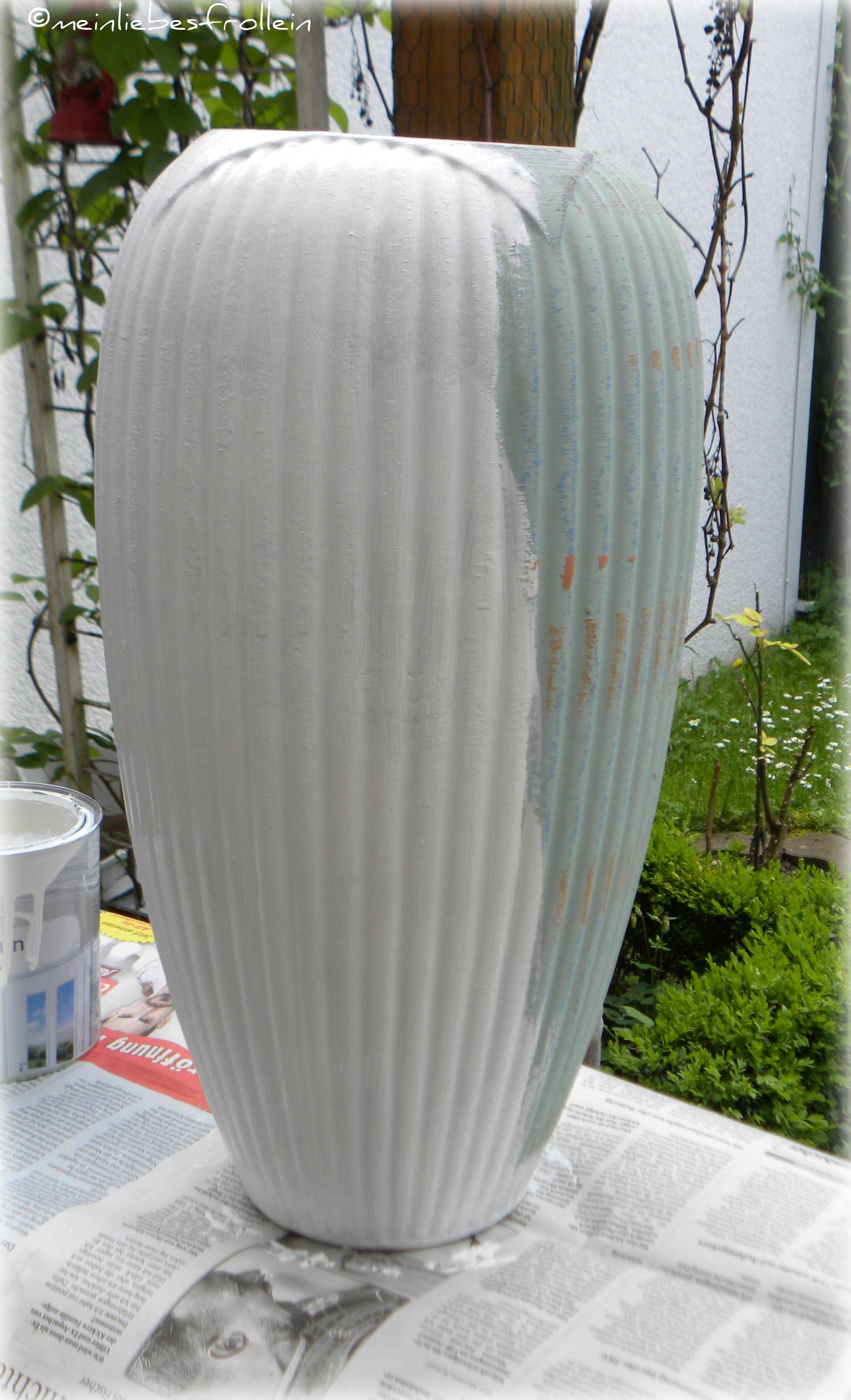 Vase Anstrich