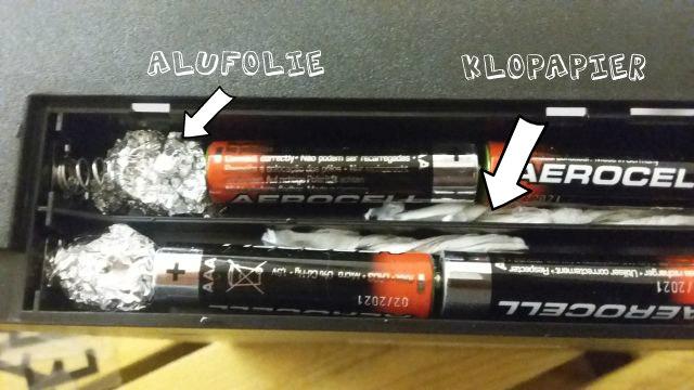 Batterien mit Beschreibung
